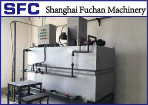 China Moisture Proof Polymer Preparation System Stainless Steel 304 With Mixing Tank on sale