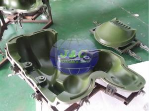 China Customized Precision Rotational Molding , Rotomolded Plastic Dog Spring Rider Mold on sale