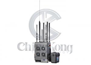 China Outdoor 6 Bands GPS signal jammer , Wireless Signal Jammer For Jail Project on sale