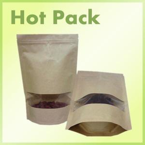 China Factory price of recyclable natural kraft paper bag on sale