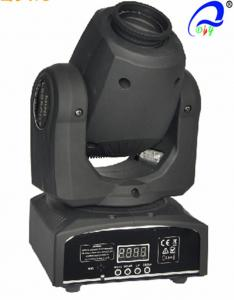 China Moving Head Gobo Spot LED Stage Light Equipment For Party / Wedding 2400 Lux / 5m on sale