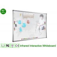 IR Interactive Whiteboard for Business , Durable Surface Portable Interactive Whiteboard