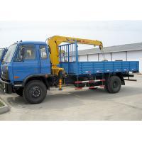 3200 kilogrammes de capacité de grue de rendement élevé monté par camion de levage d