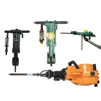 Energy Saving Air Leg Rock Drill , Pneumatic Hand Drill With Long Service Life