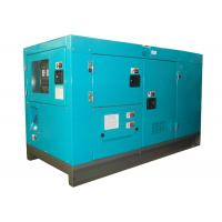 Airport 33KVA 30kw diesel generator with Japan isuzu engine 65dB 7 meters