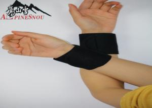 China Tourmaline Self Heating Wrist Support Belt With Chloroprene Rubber Cloth on sale