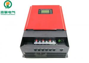China Red MPPT Solar Charge Controller , ROHS Solar Charge Controller For Lithium Batteries on sale