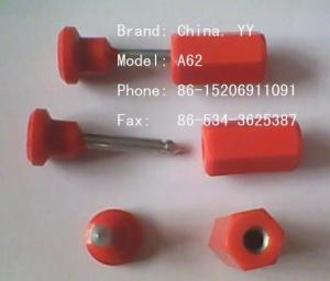 China Plastic ABS Container Bolt Sealing Strip on sale