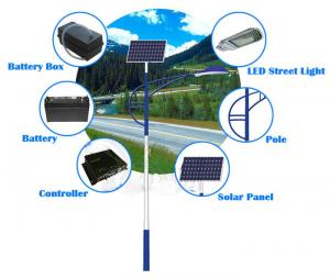 China 2015 customized battery backup solar street light with factory direct on sale