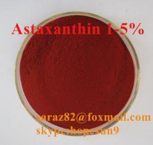 China astaxanthin haematococcus pluvialis,astaxanthin in fish food(color additive),5%astaxanthin on sale