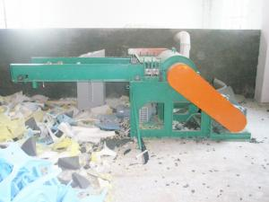 China Waste Recovery Foam Crushing Machine For Processing Cushion / Pillow / Mattress on sale