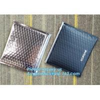 ew Product Ziplock Reusable Pe Bubble Packing  Zipper Pink Bag, reclosable, slider zipper seal, ziploc metallic bubble b