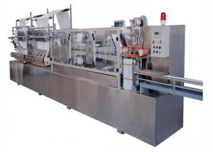 China Full Automatic Packing Machine Wet Wipes Making Machine 12000x3000x1800 Mm on sale
