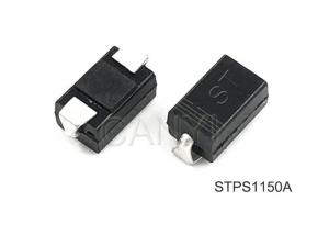 China SMA Power Schottky Diode 150V 1A / Schottky Diode Smd For Switch Mode Power Supplies on sale