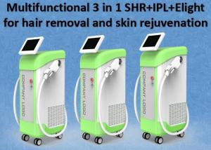 China Easy Operation SHR IPL Hair Removal Skin Rejuvenation Beauty Equipment on sale