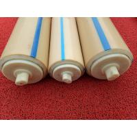 Natural Color Plastic Nylon Rollers Small Power Consumption For Industries , Long Service Life