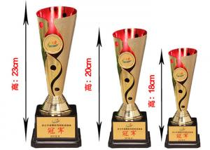 China Colorful Plating ABS Plastic Trophy Cup Custom Design And Logo Accepted on sale