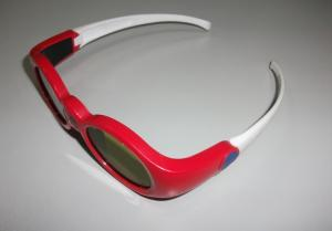 China Anaglyph 3d Active Shutter Glasses For Projector , Lightweight 3d Stereo Glasses on sale