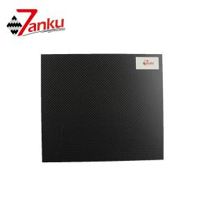 China 500*600mm 3mm Thickness 3K Carbon Fiber Board Twill Weave For RC Parts on sale