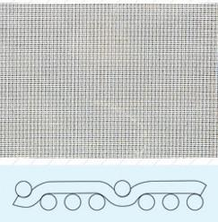 China Polyester pulping mesh fabrics on sale