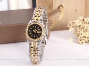 China Forsining Quartz Womens Wrist watches Fashion Stone watch Gold Color Fashion Dress on sale
