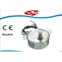 1.5RPM Home Ac Electric Motor , Silver Color Synchronous Ac Motor 49TYD Low Noise