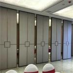 Fireproof Movable Soundproof Partition Wall System Mobile Acoustic Partition Walls Installation Details