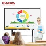 20 Points UHD Touch Screen Interactive Whiteboard All In One Teaching
