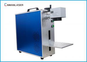 China Electronic Elements Mini Fiber Laser Marking Machine With CE FDA Certification on sale