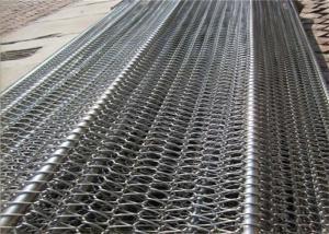 China Professional Flat Flex Wire Belt , Stainless Conveyor Belt Balanced For Conveyer on sale