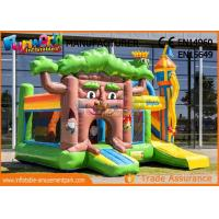 China Multiplay Fairytale Inflatable Bouncer Slide For Kids / Blow Up Bouncy Castle on sale