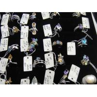 Wholesale 925 Sterling Silver Natural Gemstone Semi-Precious Stone Ring Jewelry 39pcs
