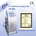 CE Beauty Salon Body Hair Removal / Pigment Removal Machine With Two Handles