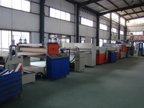 China Hollow Cross Section Plate Plastic Sheet Making Machine / Plastic Sheet Extruders on sale