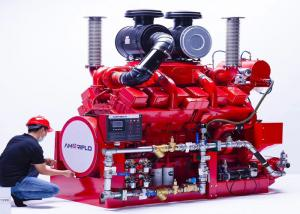 China DeMaas Brand Fire Pump Diesel Engine For Firefighting , Pumping Set Diesel Engine on sale