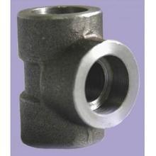 China Duplex Steel Socket Welding Barred Tee on sale