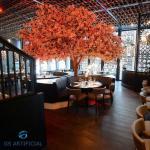Large Fiberglass Pink Artificial Cherry Blossom Tree For Home Decor