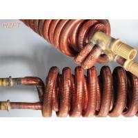 China Bobine intégrale de tube de cuivre de Cupronickel pour le chauffe-eau dans des chauffe-eau domestiques on sale