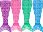 Fade Resistant Ultra-Shiny Fabric Mermaid Tails Women High Durability Lasting Longer Time