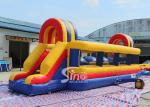 10x3m Giant Wipeout Inflatable Big Baller Obstacle Course for Adults and Children