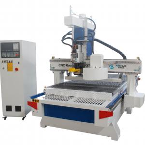 China Auto Tool Changer Woodworking CNC Router Machine With Four Spindles Multi Heads on sale