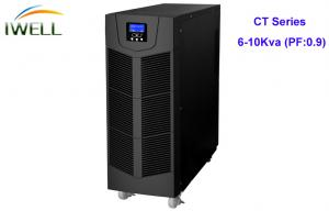 China Single Phase 230Vac Power Factor 0.9  Online UPS 6Kva with backup time 8mins on sale