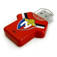 Football T-shirt Plastic USB Flash Drive, 16GB New Style Memory Stick