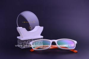 China Multifocal Vision Progressive Reading Glasses Lenses1.499 Index CR39 Raw Material on sale