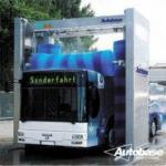 sistemas da lavagem do caminhão do ônibus