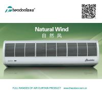 China Natural Wind Series Door Air Curtain In ABS Plastic Cover RC And Door Switch Available on sale