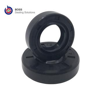 China Hydraulic pneumatic rotary motor oil seals TA TB TC double lip shaft seals NBR FPM skeleton oil seal on sale