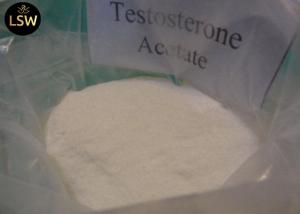 China High Purity Testosterone Anabolic Steroid Testosterone Acetate Muscle Building Powder on sale
