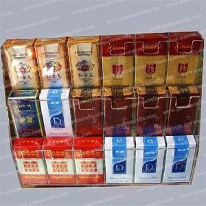 China CD (42) Clear Acrylic Tobacco Stand on sale