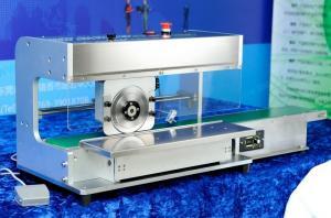 China V corte el separador motorizado máquina del PWB del PWB Depaneling para la garantía de un año supplier